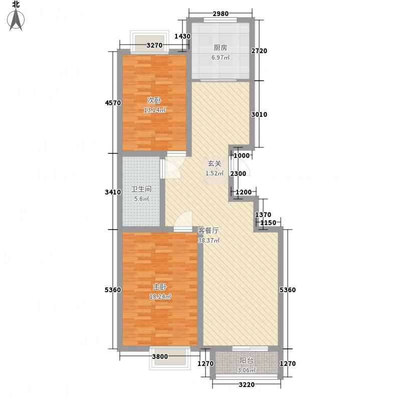 后栾花园DSCF1301_450x600户型2室2厅1卫1厨