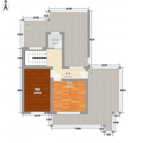万锦海岸2室0厅1卫0厨116.00㎡户型图