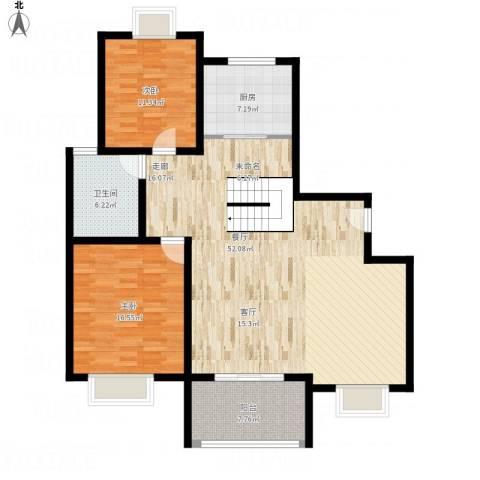 三湘森林海尚2室1厅1卫1厨141.00㎡户型图