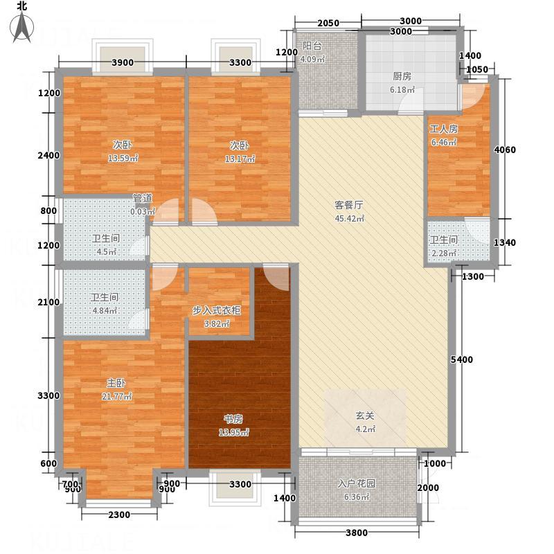 创意英国155.26㎡I1户型4室2厅3卫