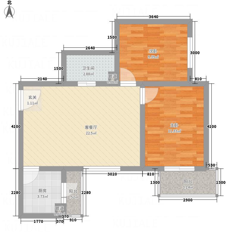 公元201084.00㎡户型3室2厅1卫1厨