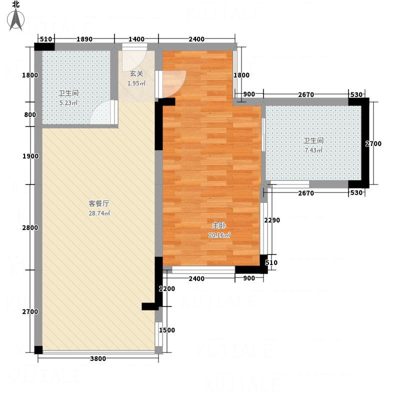 创富商务公寓户型