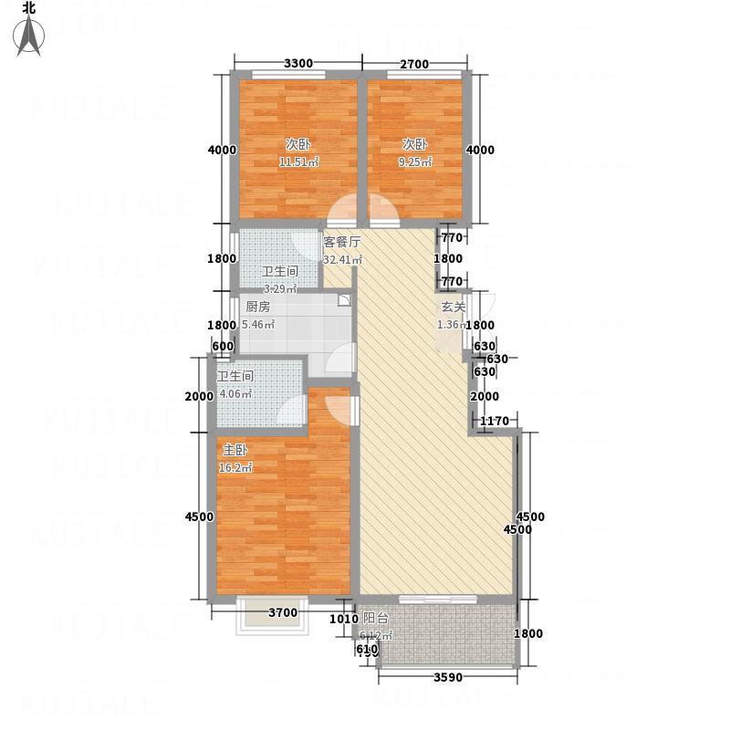 竹福佳苑A5―2户型