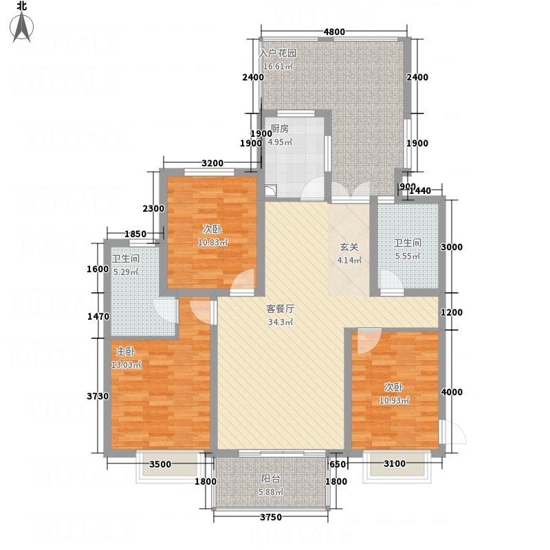 滨湖世纪城振徽苑1217397581680_000户型3室2厅2卫1厨