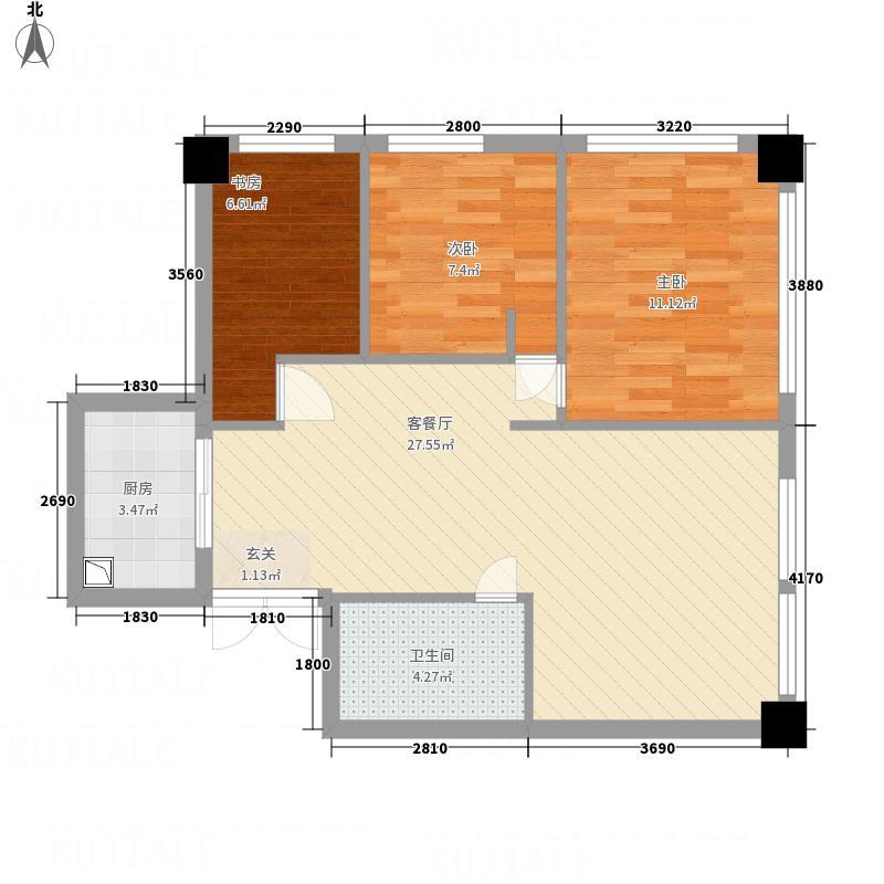 蓝山数码二期1273483873023_000户型2室1厅1卫1厨