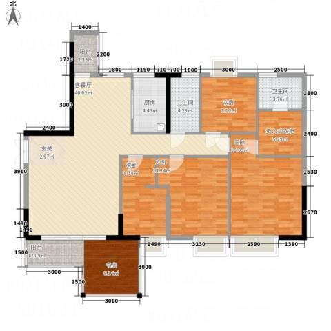 光耀荷兰堡4室1厅2卫1厨119.08㎡户型图