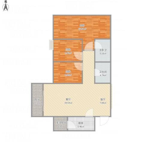 酒珠大厦-单栋9103室1厅1卫1厨139.00㎡户型图