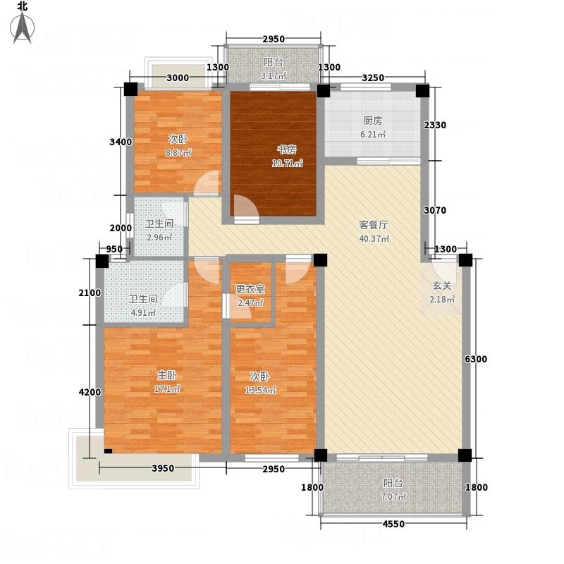 浩泰佳园14128.20㎡户型4室2厅2卫1厨