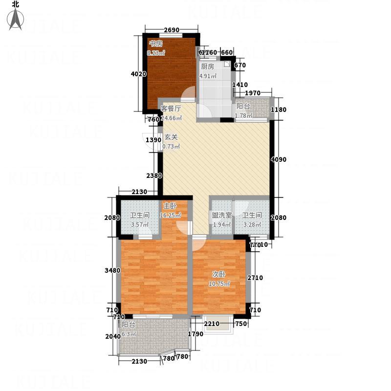 翠岭居户型3室