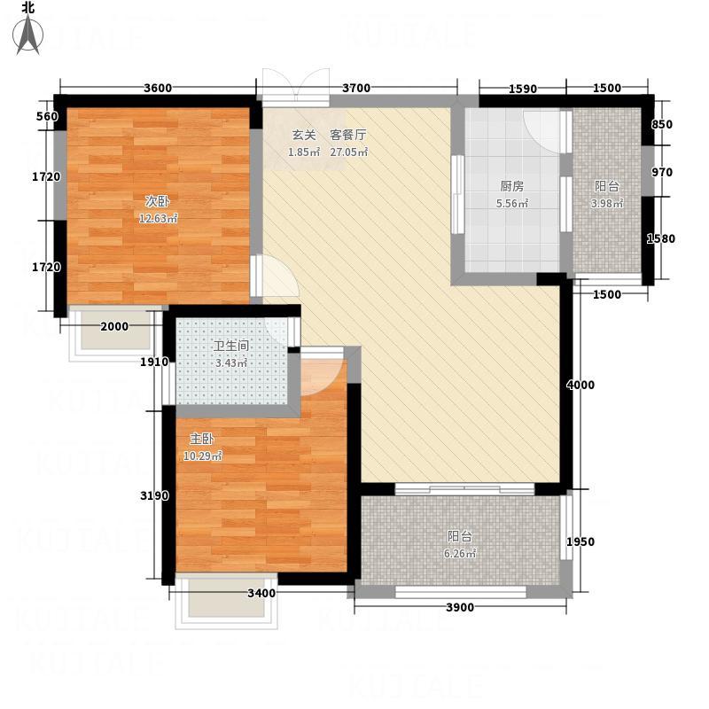 绿地・迎江世纪城一期B区6#楼02户型