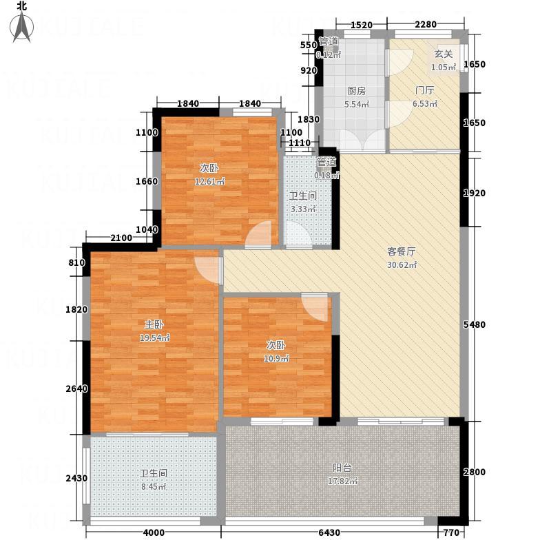 华润・石梅湾九里二期公寓E1户型