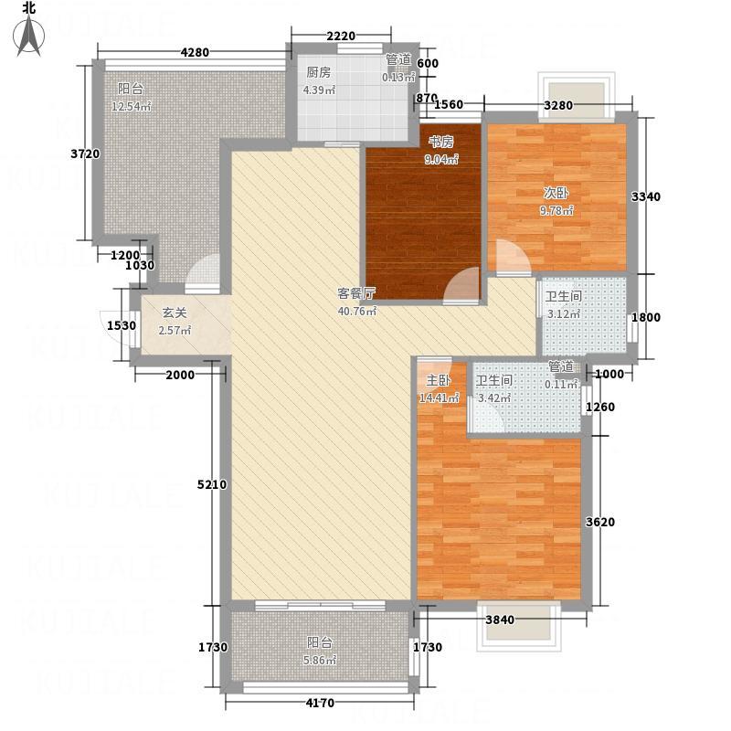 华萃庭院130.00㎡华萃庭院户型3室2厅2卫1厨130.00㎡户型3室2厅2卫1厨