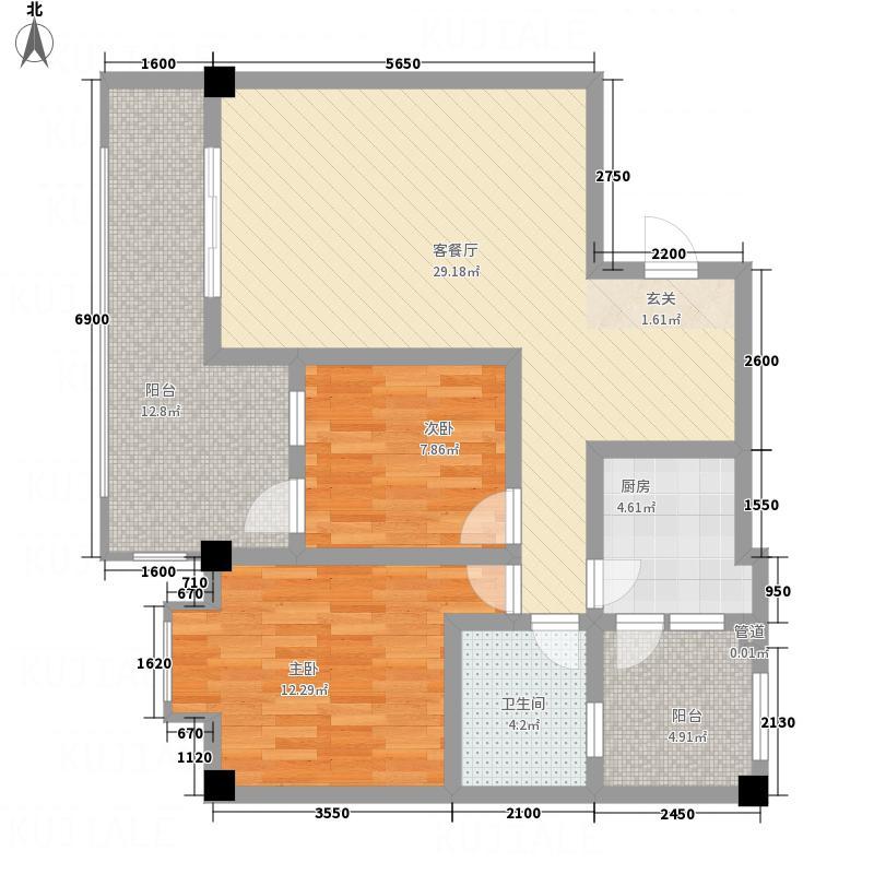 民安小区3户型1室1厅1卫1厨