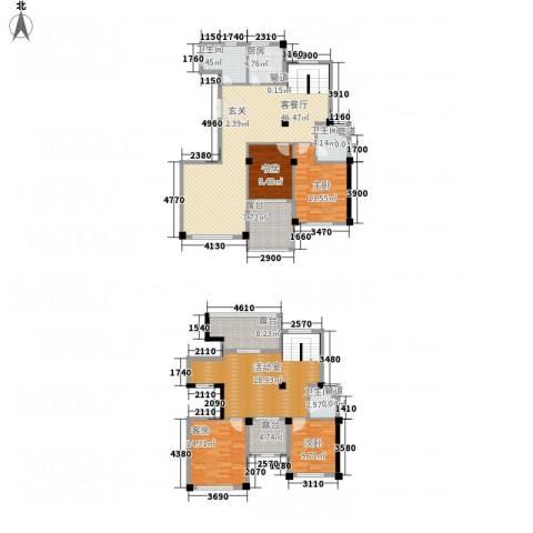 柏顿公馆3室1厅3卫1厨228.00㎡户型图