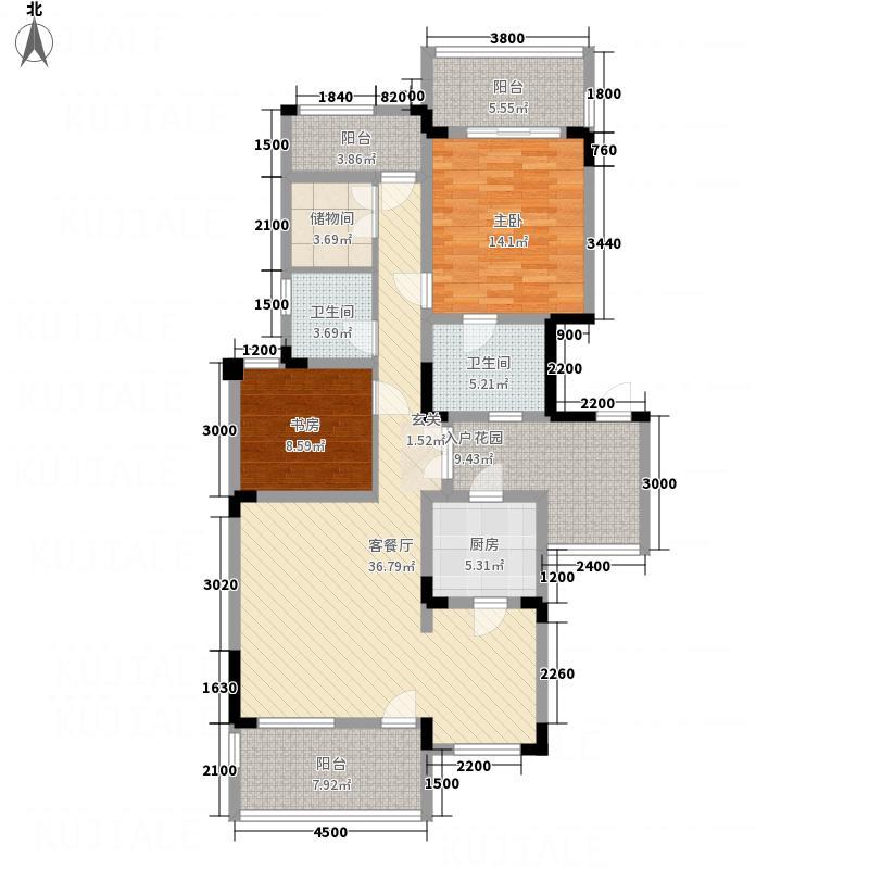 幸福大院5632117.00㎡A5/A户型3室2厅2卫1厨