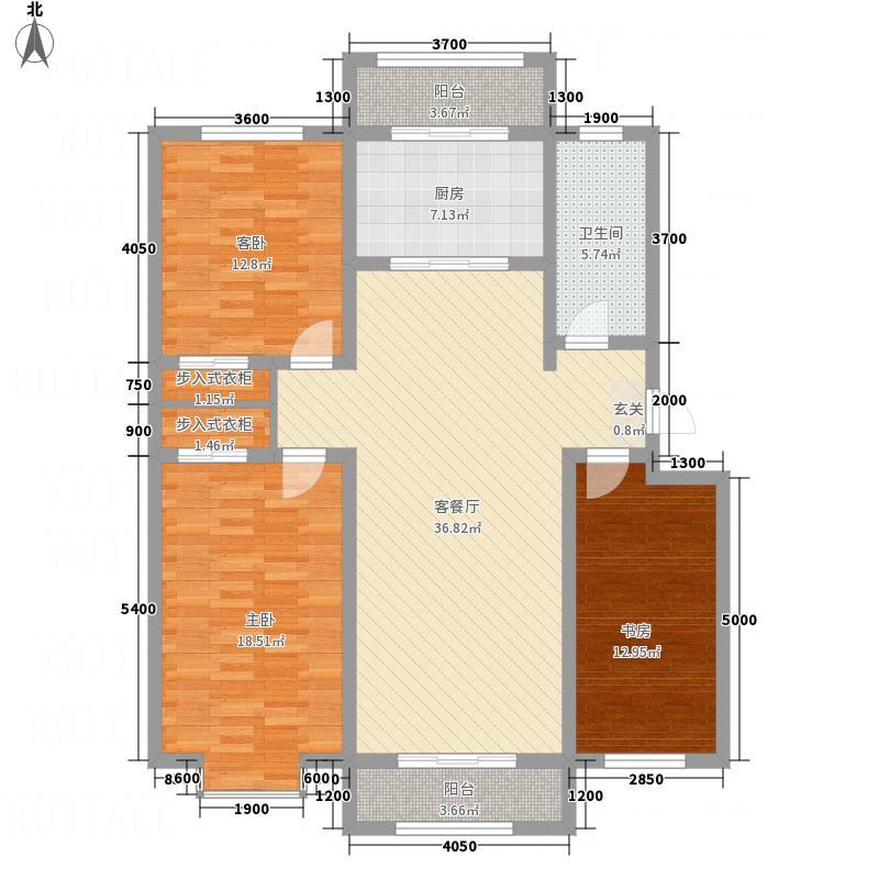 尚港华府高层10号楼标准层L户型