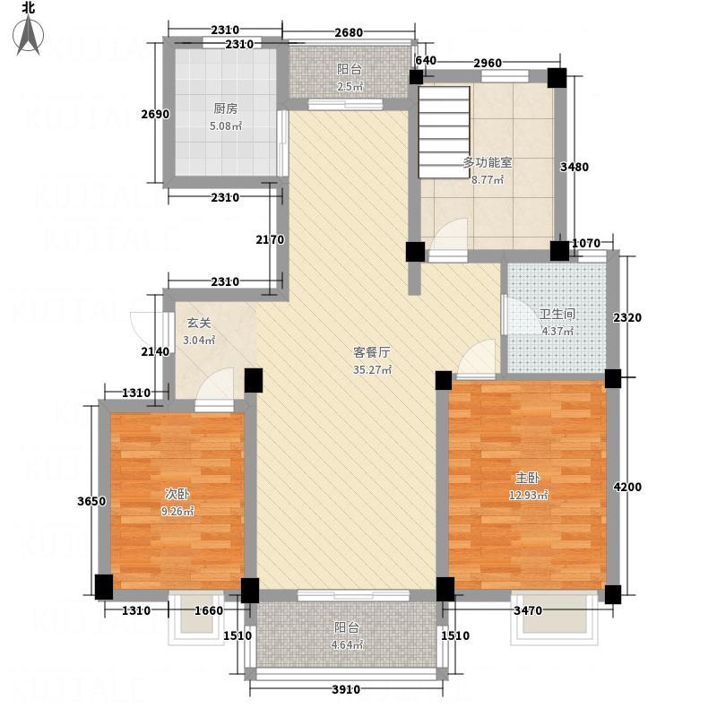 花溪新村65.00㎡户型2室