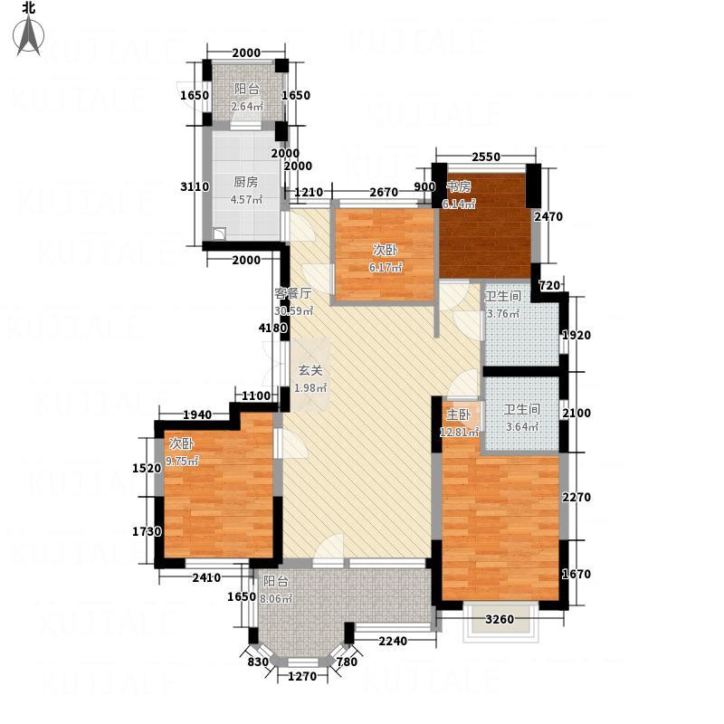 缇香锦园322128.88㎡户型3室2厅2卫