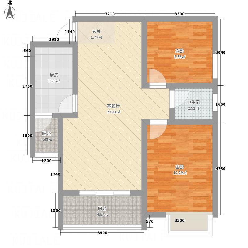 南屏苑121.14㎡2号楼1单元2号户型3室2厅2卫1厨