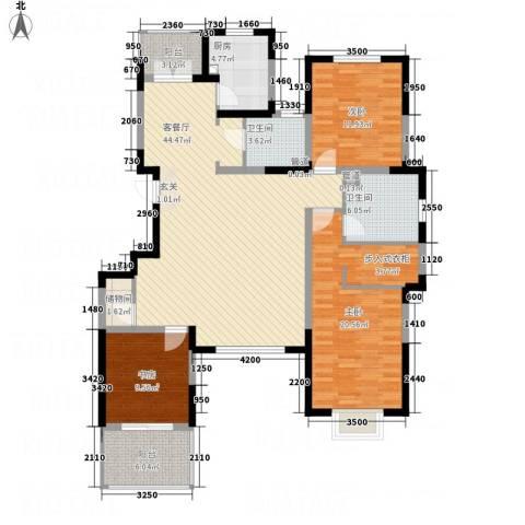 五矿・铂海岸3室1厅2卫1厨159.00㎡户型图