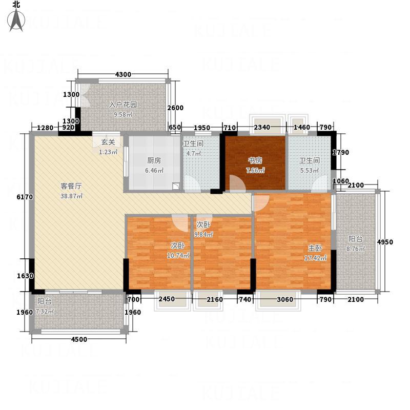 东方豪庭3.20㎡雅阁B3户型2厅2卫