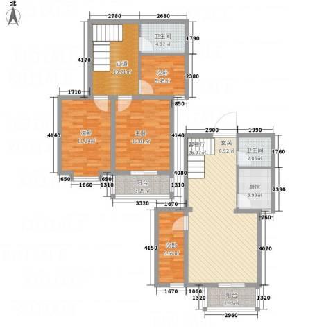 盛世郡4室1厅2卫1厨127.00㎡户型图