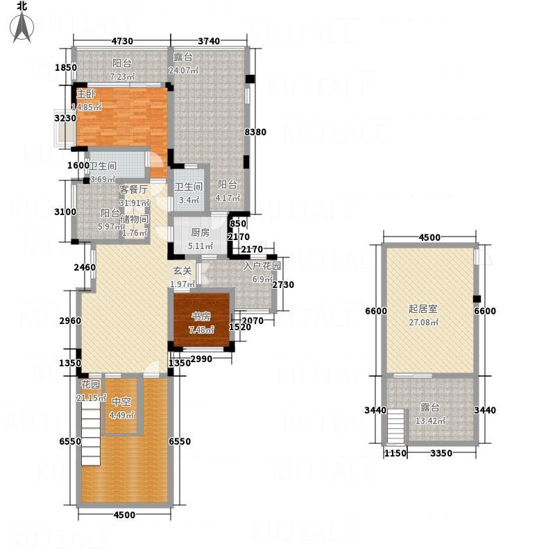 幸福大院1322131.25㎡B户型3室2厅2卫1厨