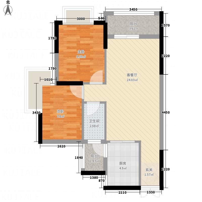 威尼斯广场14号楼A户型