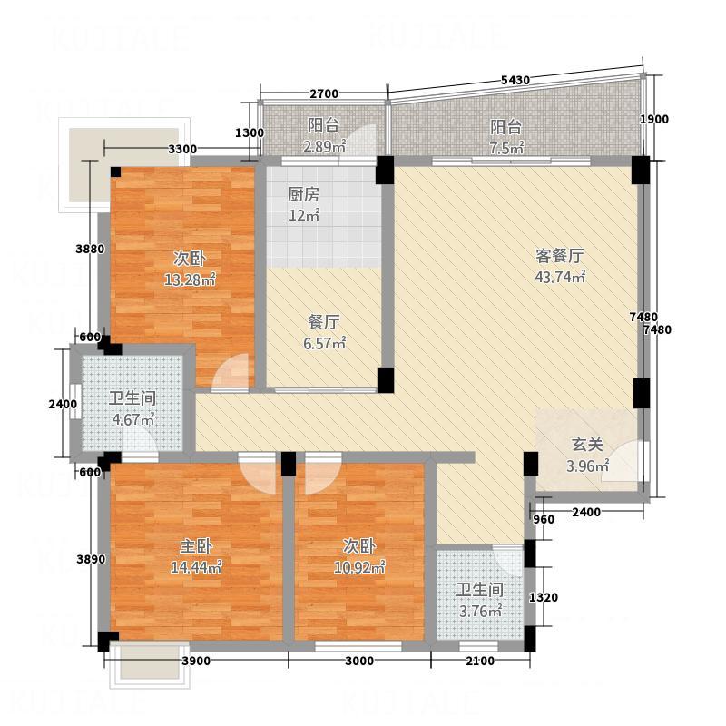 景海豪庭4户型