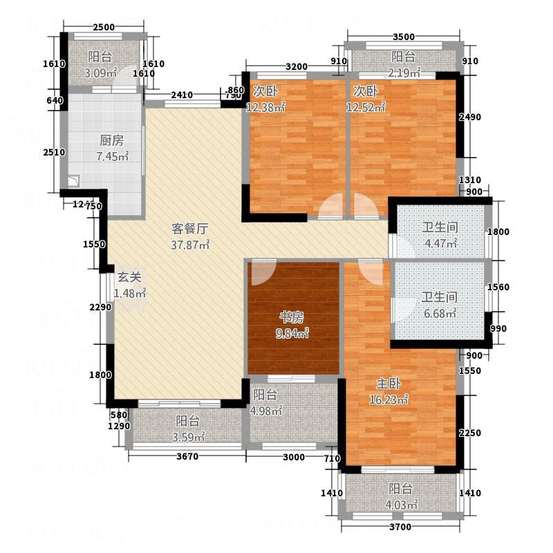 富力红树湾富力红树湾户型图户型图34室2厅2卫1厨户型4室2厅2卫1厨