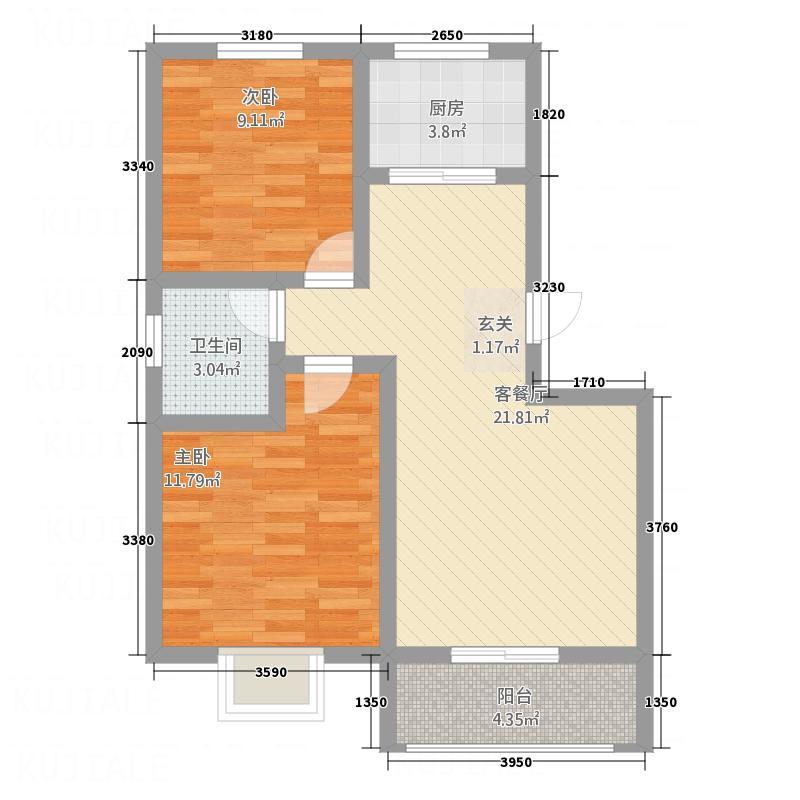 怡和国际9号楼经典户型