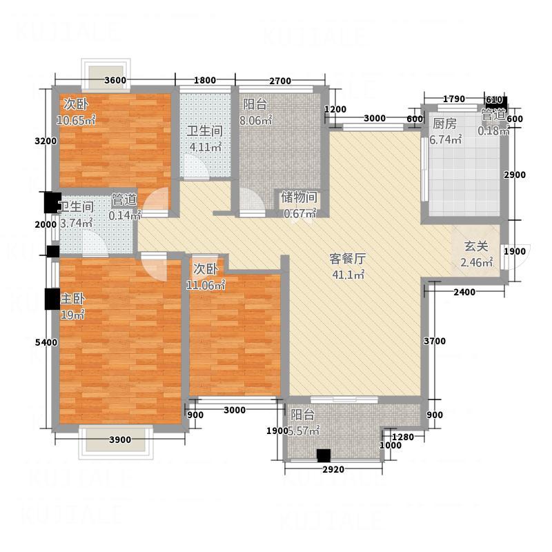 福王府小区3户型