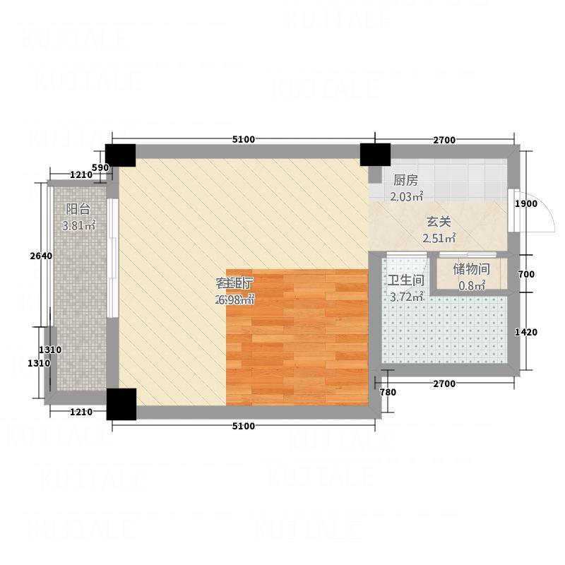 帕美诺庄园213121152.00㎡201312112240319298m户型1室1厅1卫1厨