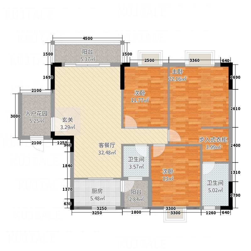 福兴家园21.20㎡2#楼1单元02户型