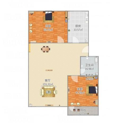 太平洋小区2室1厅1卫1厨426.00㎡户型图