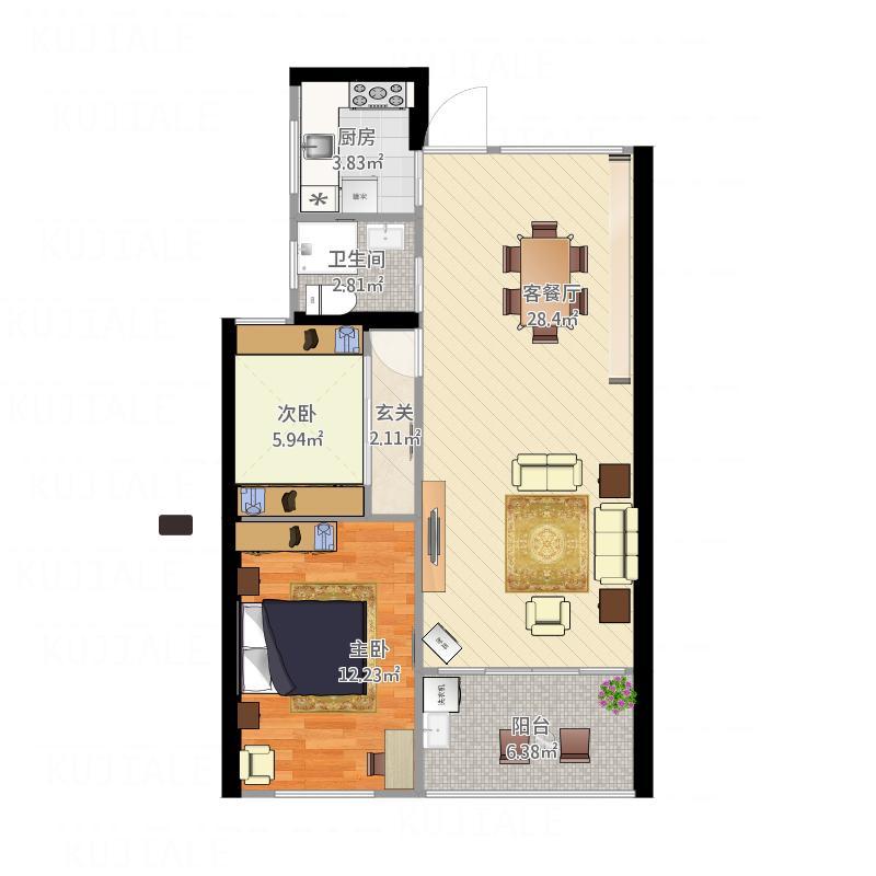 3号楼甲单元02室