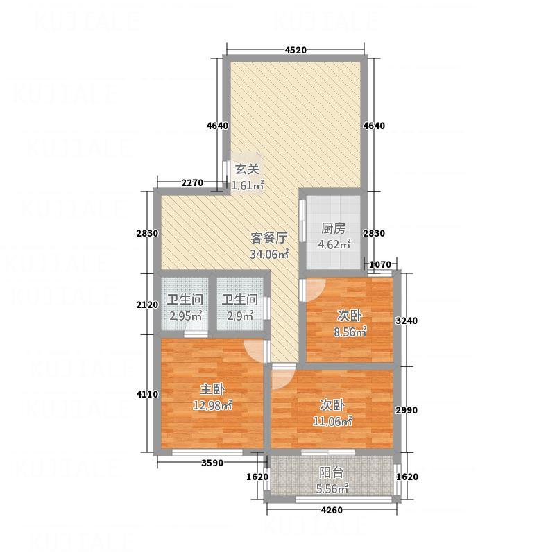 康盛公寓户型