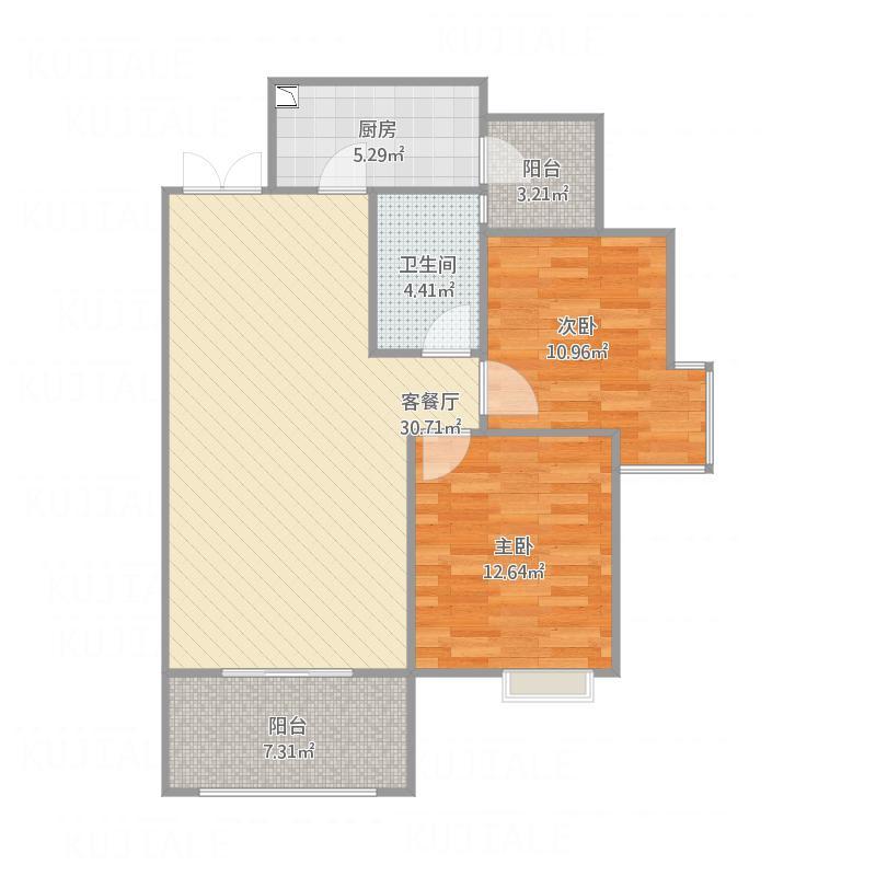 和睦人家 D4 87.72m²