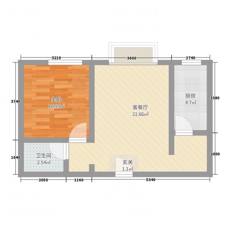 煌都・东园小区571-1户型