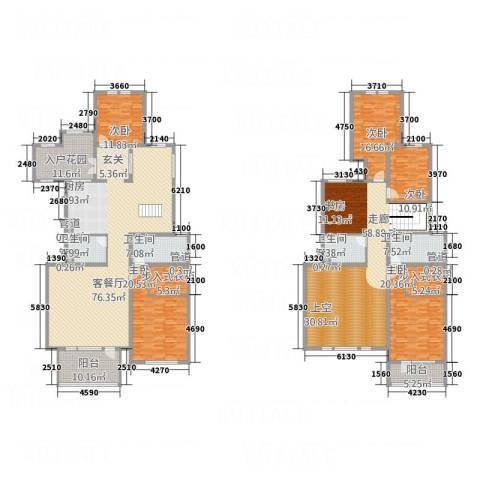 曲江公馆和园5室1厅4卫0厨282.00㎡户型图