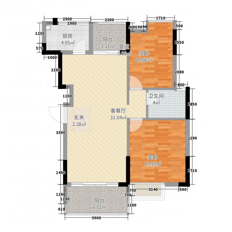 雅兰小筑公寓户型