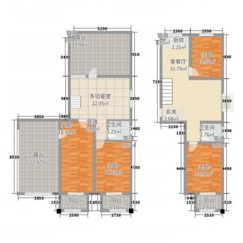 署西嘉园4室1厅2卫0厨239.00㎡户型图