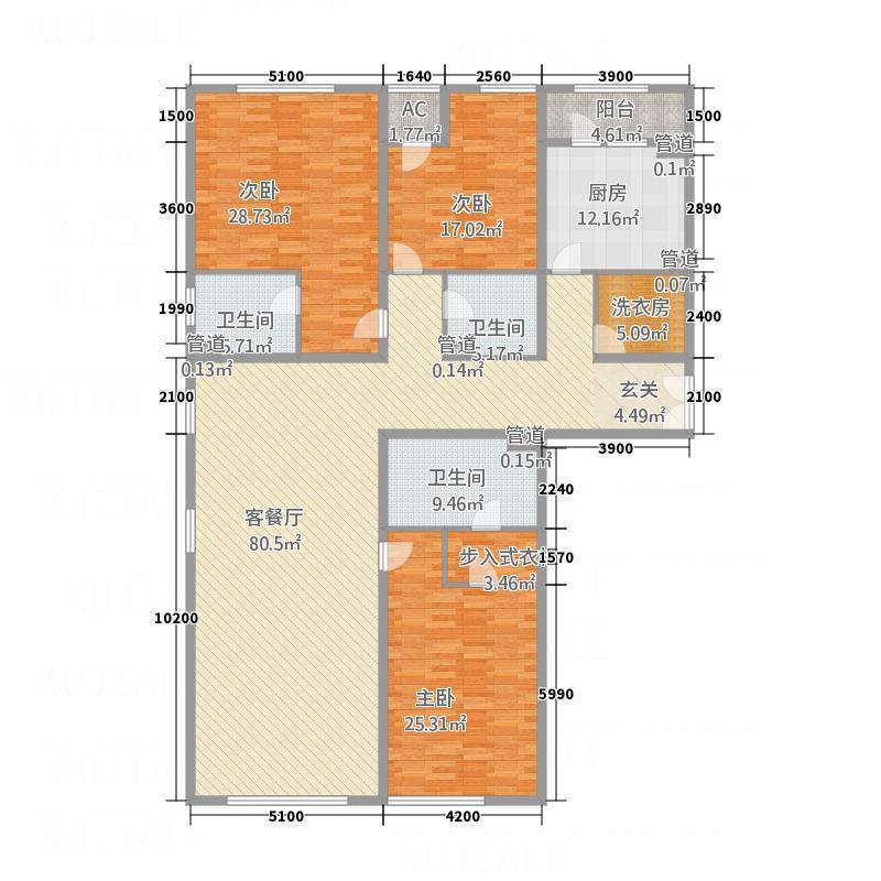 金龙皇家广场公寓户型