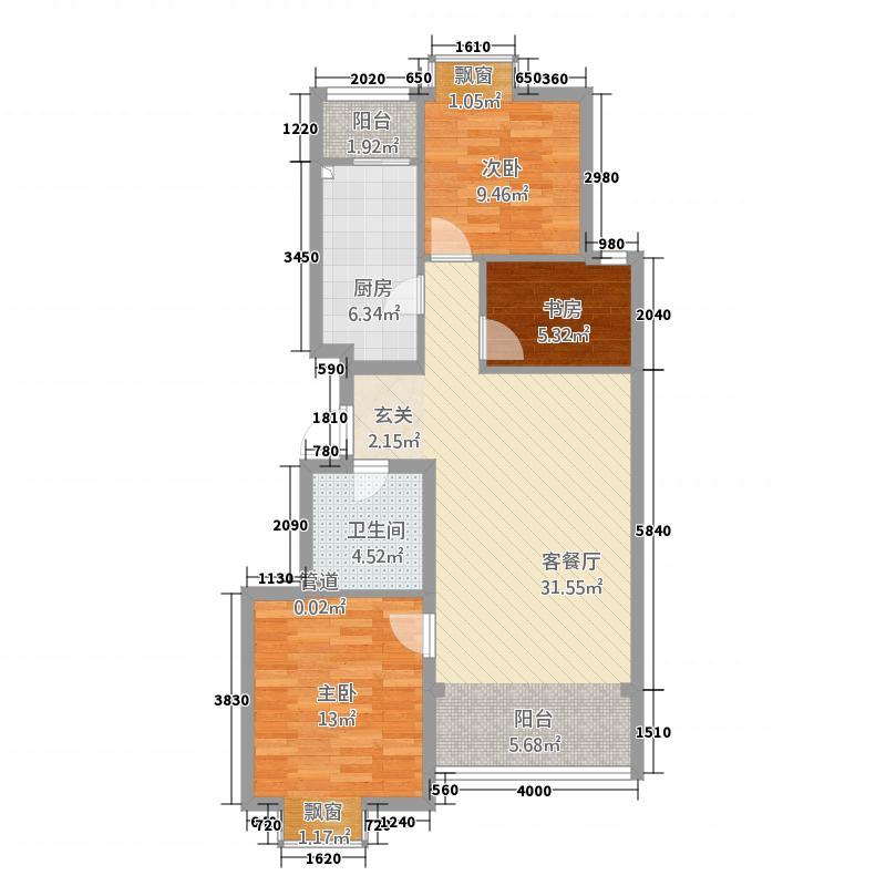 格林公寓户型