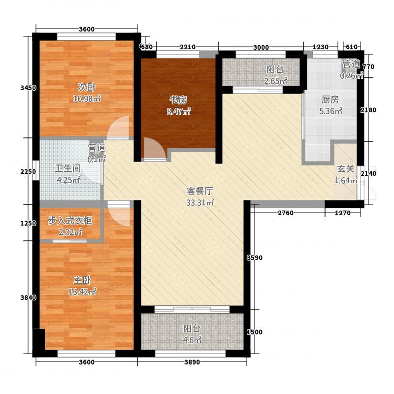 滨海公寓6#D3户型