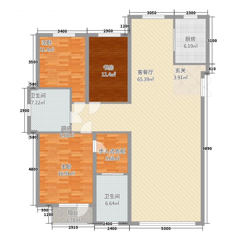 三室两厅两卫一厨167.35平.png