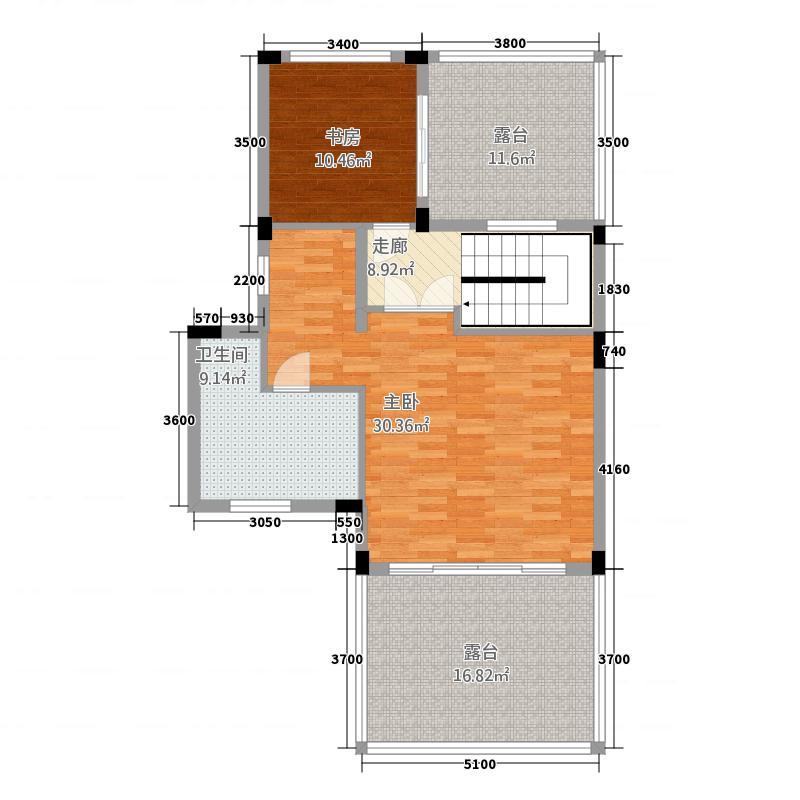 挪威逊堡2室0厅1卫0厨122.00㎡户型图