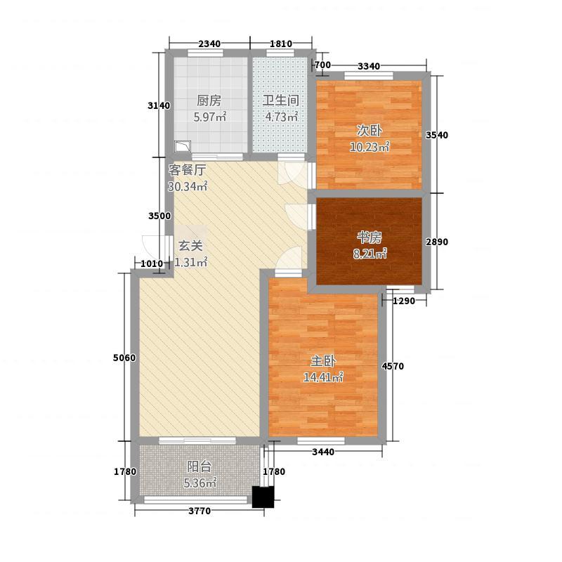 扬子家园114.00㎡扬子家园户型图尊贵雅居户型3室2厅1卫1厨户型3室2厅1卫1厨