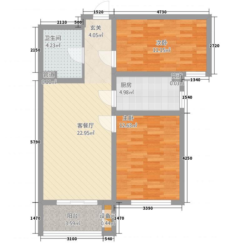 新华・三里家园两居户型