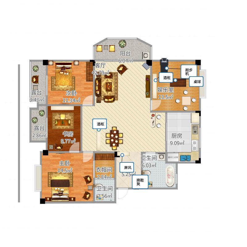 枫丹白露别墅深化设计